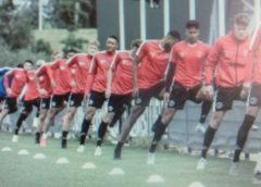 Zaterdagteam Sporting Almere oefent tegen Almere City 021