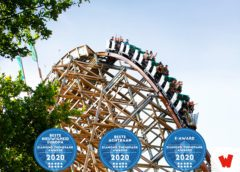 WALIBI HOLLAND'S UNTAMED BEKROOND MET DRIE DIAMOND THEMEPARK AWARDS