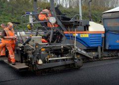Op- en afrit A6 in Lelystad hele weekend dicht