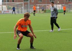 Talent Koen Blommestijn voelt zich als een vis in het water bij FC Volendam.