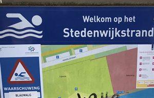 Waarschuwing blauwalg Stedenwijkstrand Almere opgeheven