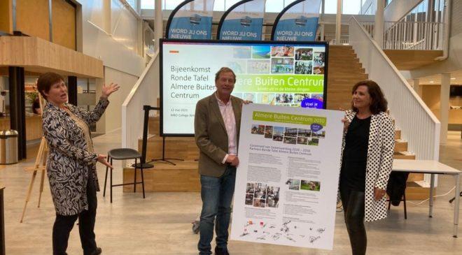 Partners Ronde Tafel Almere Buiten ondertekenen Samenwerkingsconvenant